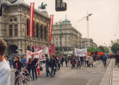 HOSI-Wien-Block am Maiaufmarsch