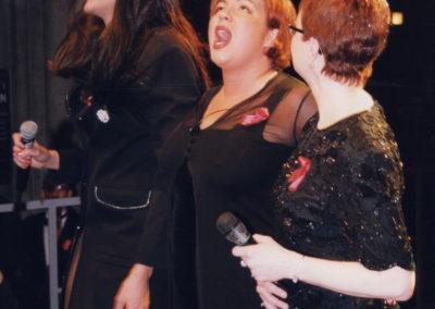 Gloria, Murielle und Miss Marilyn