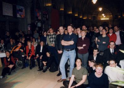 Angetanes Publikum